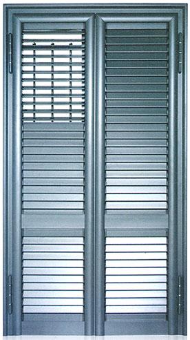 Infissi blindati - Combinato Alluminio Ferro chiuso