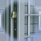 Infissi blindati - Combinato Alluminio Ferro - Dettaglio 3