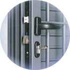 Infissi blindati - Combinato Alluminio Ferro - Dettaglio 4