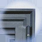 Infissi blindati - Combinato Ferro Ferro - Dettaglio 1