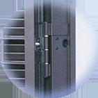 Infissi blindati - Combinato Ferro Ferro - Dettaglio 3