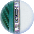 Persiana blindata a doghe fisse chiusa - Dettaglio 3 - Testa Infissi